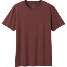 Prana Crew T-Shirt Herre Maple Heather